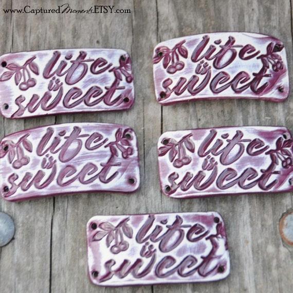 Life is Sweet Bracelet Bead