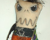 Mini Monster  Voodoo Doll - Key Chain - 14
