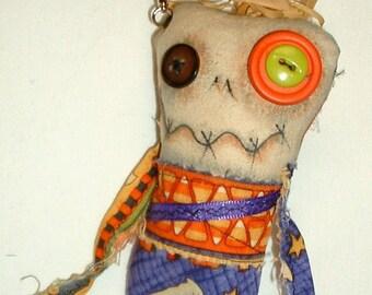 Mini Monster  Voodoo Doll - Key Chain - 12