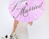 Just Married Wedding Parasol