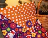 "American Girl Doll Sleeping Bag--""Hello Kitty"""