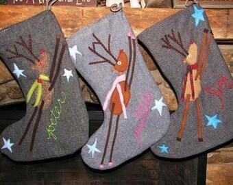 Reindeer Stockings...custom