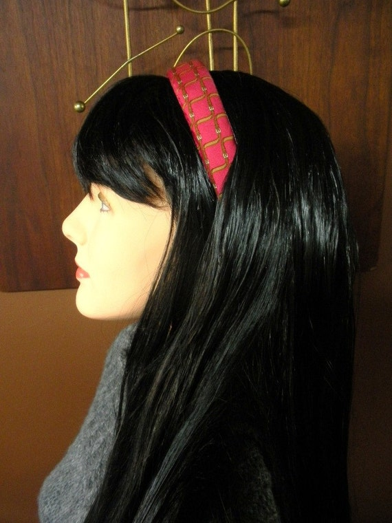 HERMES NECKTIE recycled headband silk belts in pink - Niza, Westfield, Massachusetts