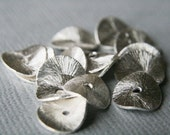 RESERVED 50 Brushed Sterling Silver Discs 10 mm