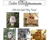 Little Hoot Needle Felted Owl Tutorial