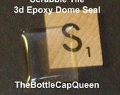 100 3d Epoxy Dome Scrabble Tile Seals DIY Altered Art - Perfect Solution for Beatiful Scrabble Tiles
