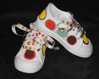 Euro Retro Polka dot shoes