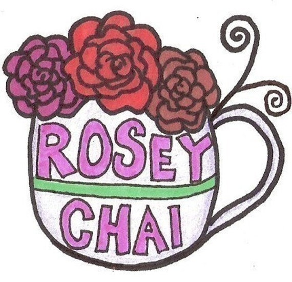20 % o f f . rosey chai tea . for women . tea bags