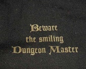 Dungeons and Dragons Beware DUNGEON MASTER messenger bag