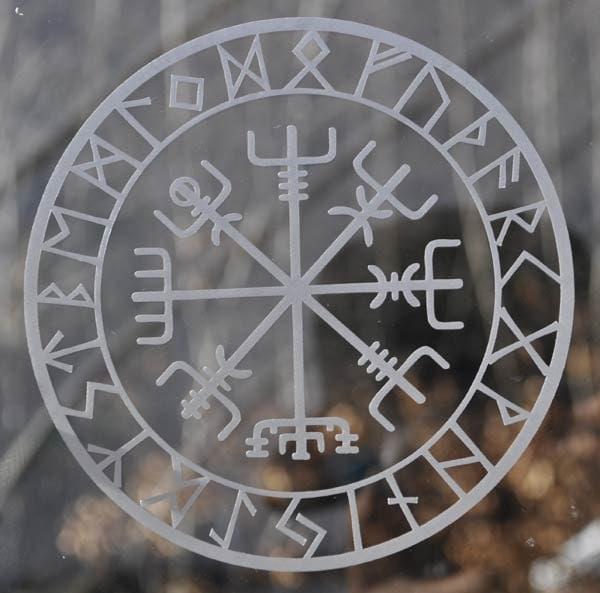 Viking protection rune...