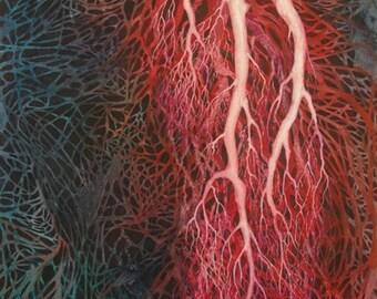 Native Roots Run Deep, an original watercolor painting