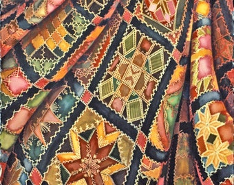 Victorian Crazy Quilt limited edition giclee print
