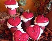 Valentine's Heart Votives