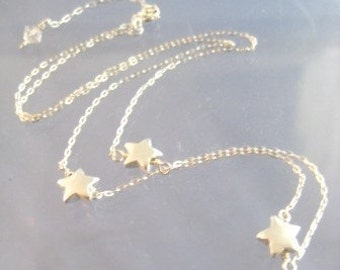 Three Stars Sterling SIlver Mamma Mia Necklace