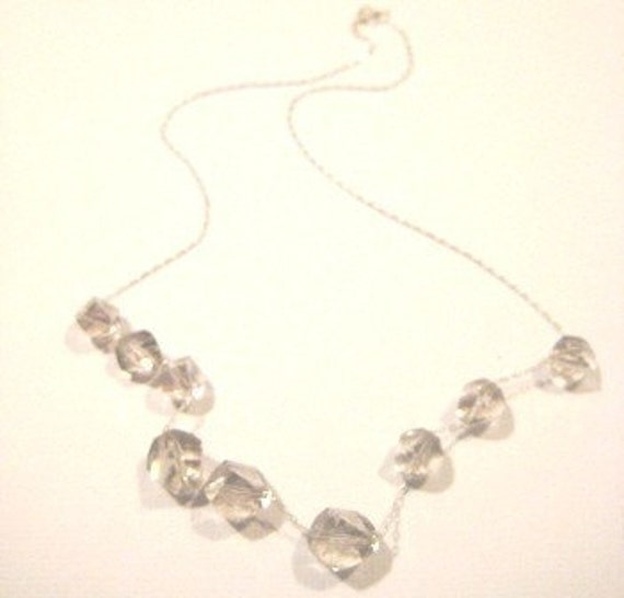 Parisian Ice - Carrie Necklace