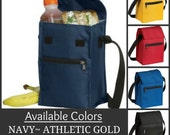 Insulated Lunch Coolers  Personalized Embroidery Black Friday Cyber Monday