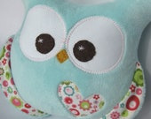 NEW Chubby Minky Plush Owl Riley Blake