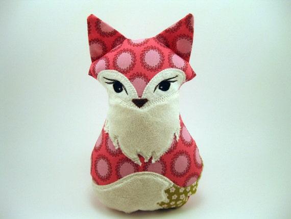 Foxy Plush Fox Amy Butler fabric