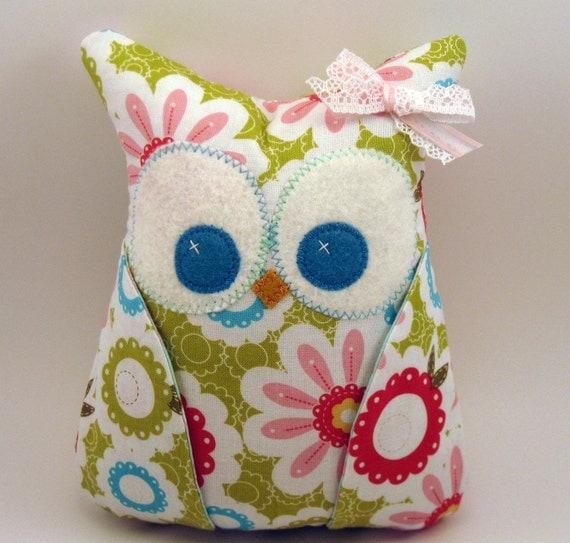 Small Plush Owl