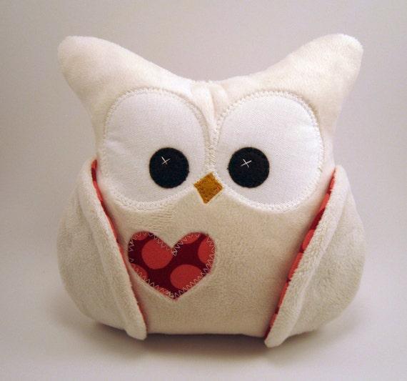 Chubby Minky Plush Owl Amy Butler