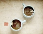Tea for Two - 16x20 Fine Art Still Life Photography Print - Warm & Relaxing Home Decor Photo Great for a Friend or Housewarming Gift