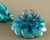 SuperChunk Turquoise Bloom Necklace