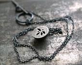 Leaf Pod Necklace, Pendant, Woodland, Nature Jewelry, Wearable Art