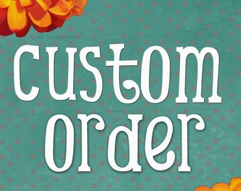 CUSTOM 7.25 x 24 inch Distressed Wooden Sign