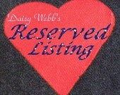 Reserved Listing Twirling for Scrapsnstuff