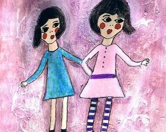 SALE    Sisters 8x10    SALE