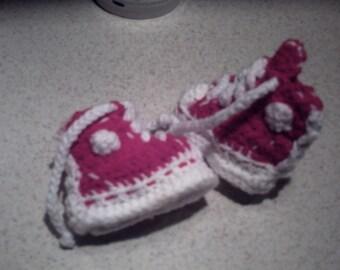 Converse Pf Flyer Hi Top Sneaker Booties Newborn Baby