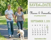 Save the Date Magnet/Card