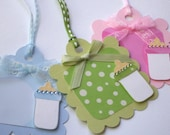 Baby Gift Tags, Variety Pack of 8