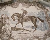 Equestrian Toile 2 yard piece