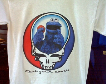 Grateful Dead Steal Your Cookie Monster T-Shirt