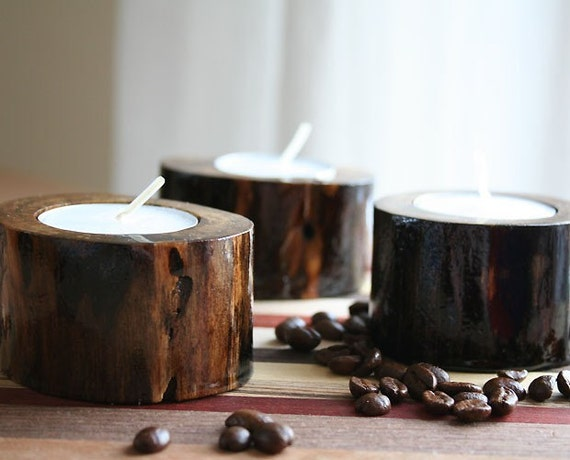 Little Scout - Rustic Candle Holders