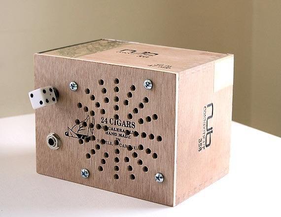 Cigar Box Amp - Portable Battery Powered Amp - Ready to Ship