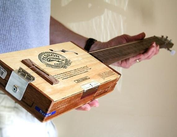 RESERVED - Cigar Box Guitar