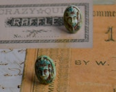 Vintage Egyptian Stud Earrings