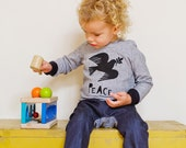 Peace dove children's hoodie