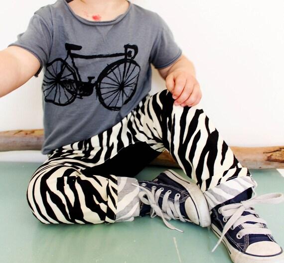 Zebra skinny pants