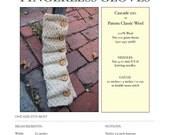 Ballybrae Fingerless Gloves - PDF Knitting Pattern