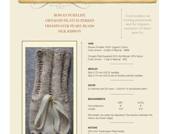 Winter Solstice Cuffs - PDF Knitting Pattern