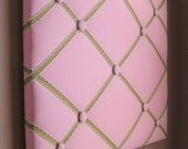 16x20 Memory board Bow Board Pink and Green