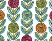 Fabric Michael Miller Zinnia Path in Spring One Yard