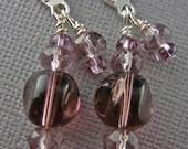 Purple Princess Earrings- SALE