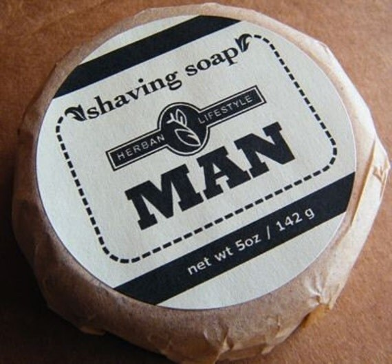 Herban Lifestyle Man Shaving Soap