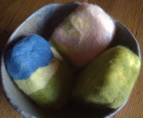 Natural Felted Organic Soaps--You choose