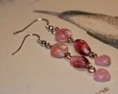 Light Pink Fishhook Earrings