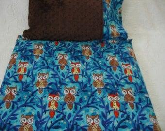 Moonlit Owls Kinder Nap Mat